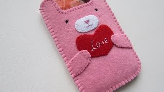 How To Make A Cute Bunny Phone Bag - Diy Style Tutorial - Guidecentral