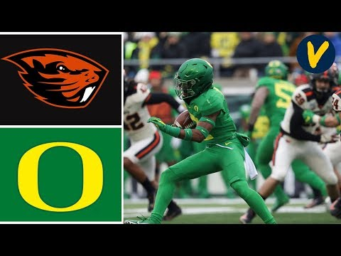 Oregon State Vs #14 Oregon Highlights | Week 14 | College Football 2019