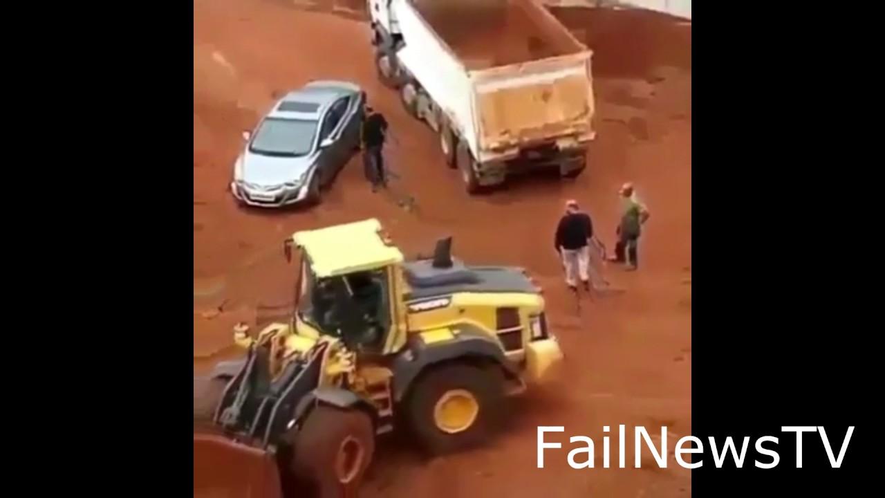 Drobne nieporozumienie na placu budowy #fail #humorous #2 04.08