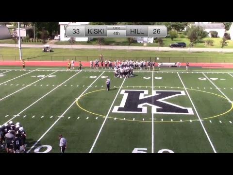 Kiski Varsity Football V. The Hill School