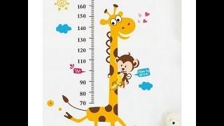 Обзор наклейки измерителя роста ребенка(, 2016-11-13T15:09:34.000Z)
