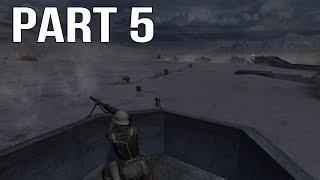Call of Duty 2 Gameplay Walkthrough Part 5 - British Campaign - El Alamein 1/2