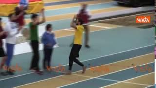 Gianmarco Tamberi vola a 2 metri e 32, salto in alto da record europeo ad Ancona