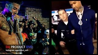 Blue Face Arrested After Bloods Try To Take His Chain In L.A..DA PRODUCT DVD