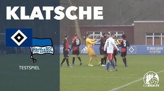 50-Meter-Tor bei Testspiel-Klatsche!   Hamburger SV II - Hertha BSC II (Testspiel)