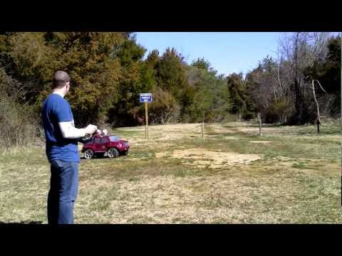 Remote Control Power Wheel Run At The Park