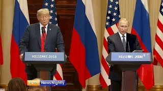 Russia Reacts to the Putin-Trump Summit - ENN 2018-07-17