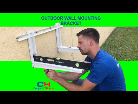 cooper&hunter-outdoor-wall-mounting-bracket