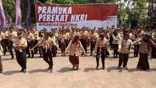 """Dance Scout the Messenger of Peace"" Pramuka Jawa Timur"