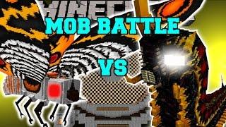 MOTHRA VS BATTRA & RODAN - Minecraft Mob Battles - Minecraft Mods