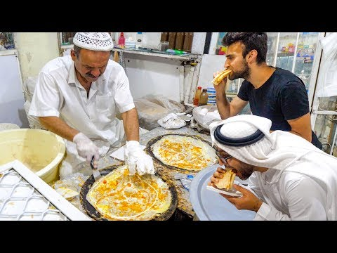The DUBAI FOOD TOUR – BEST Street Food & RARE Emirati Cuisine in Dubai, UAE!