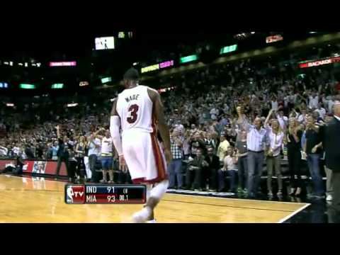 Dwyane Wade Game Winner vs. Indiana Pacers (March 10th, 2012)
