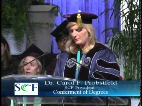 State College of Florida 2014 Winter Commencement