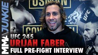 UFC 245: Urijah Faber full MMA Junkie interview