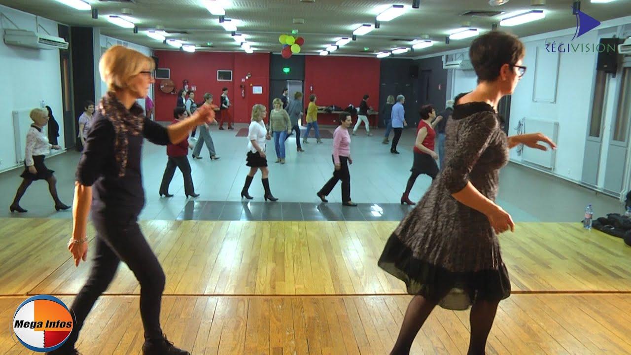 L 39 atelier danse en ligne de neufchef fait un tabac for Danses de salon en ligne