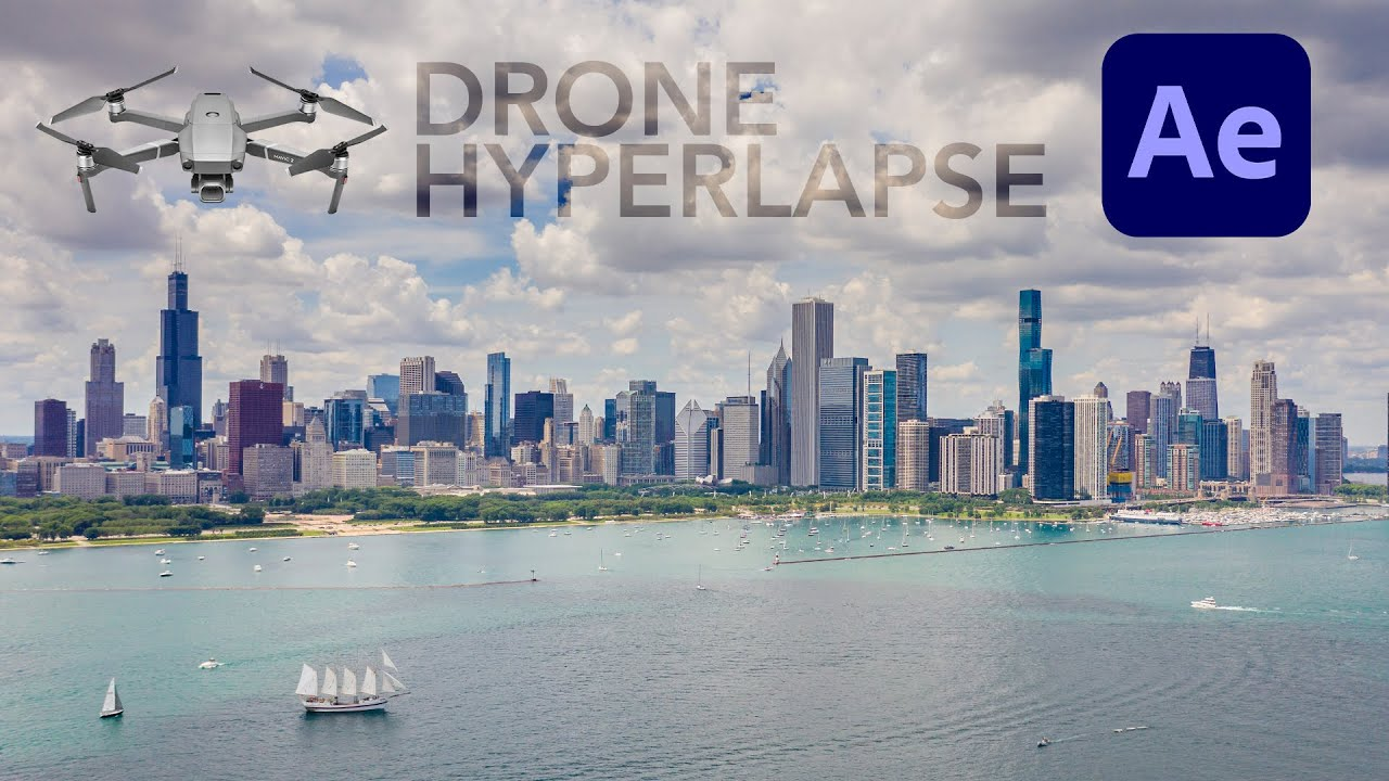 How To STABILIZE ANY DRONE HYPERLAPSE - Easy Tutorial