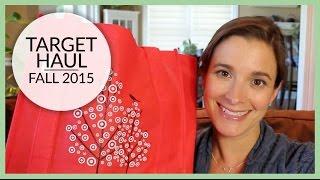 Target Haul | Fall 2015