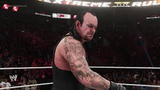 WWE2k19 - Undertaker vs Batista