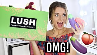 THE ENTIRE LUSH VALENTINES DAY RANGE 2019 \ UNBOXED!