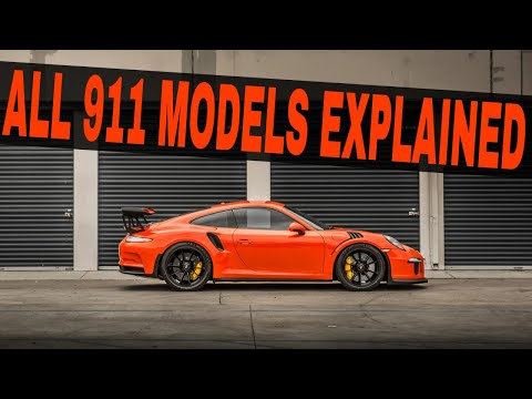 There Are 21 Different Versions of the 991 Porshe 911 - We Cover Them ALL In Less Than 5 Minutes!