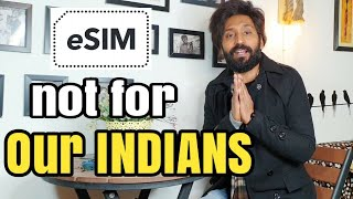 What is eSIM? | This is not for Indians