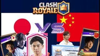 【クラロワ生放送】日本代表 vs 中国代表