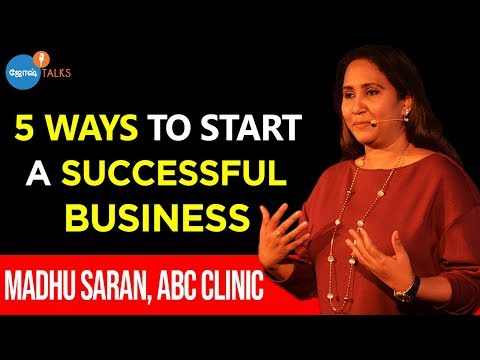 How To Start A Business? | Business Motivation | Madhu Saran | Josh Talks Tamil