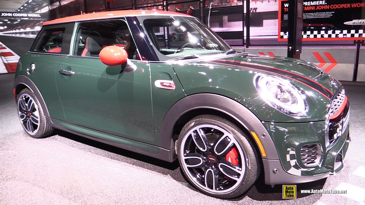 2016 Mini John Cooper Works Hardtop Exterior And Interior Walkaround 2017 Detroit Auto Show You