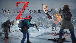 World War Z: The Zombies Are Here and Fat Brad Pitt is here to Save The Day - PC Gameplay