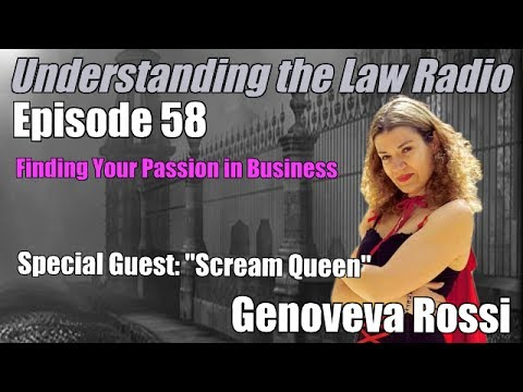 Episode 58: Host Peter Lamont talks to Scream Queen Genoveva Rossi about Business Passion