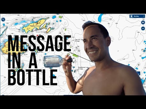 REAL LIFE MESSAGE IN A BOTTLE - Tonga to Fiji