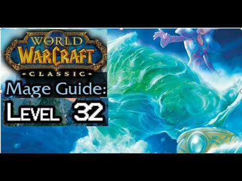 Class WoW- Solo AOE Frost Mage Leveling Spot 32-37 + Tips