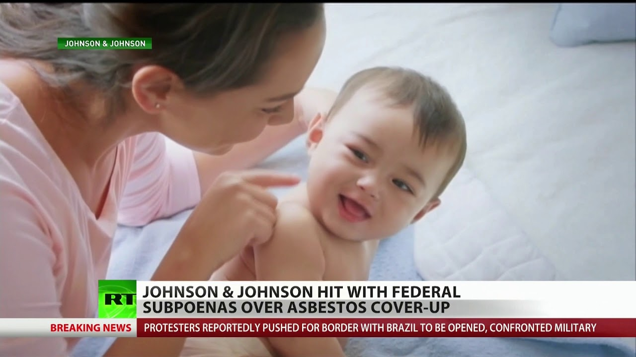 Killer baby powder lands Johnson & Johnson in court!