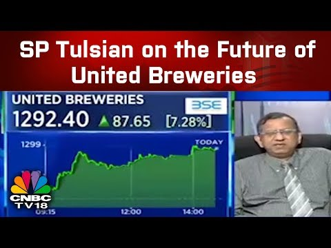 SP Tulsian On The Future Of United Breweries | CNBC TV18