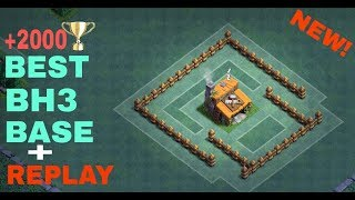 BEST Builder Hall 3 Base w/ PROOF!! | NEW CoC BH3 ANTI 2 STAR Builder Base! | Clash of Clans 2017