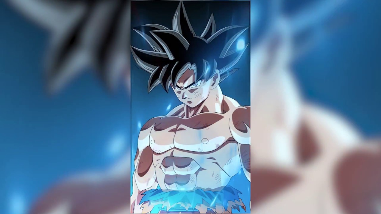 goku limit breaker animated wallpaper - youtube