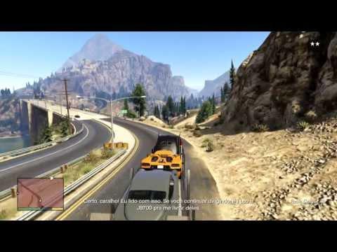 GTA 5 - Modo História 27 - Carro do James Bond e Carne Moida Sabor Michael