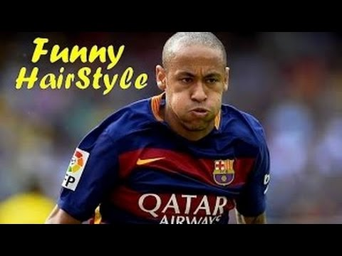 Neymar Jr Best And Funny Hairstyle In His Career Hd Youtube