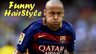 Neymar Jr ●  Best and Funny Hairstyle in his Career ● HD