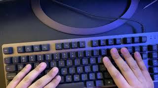 Logitech K840 Aluminum Mechancial Keyboard Review
