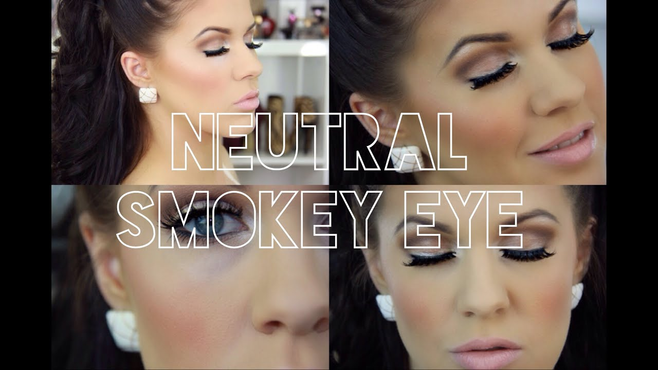 Afternoon Wedding Makeup : Neutral Smokey Eye Daytime Wear Bridal or Wedding ...