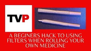 How To Roll A Joint With A Filter