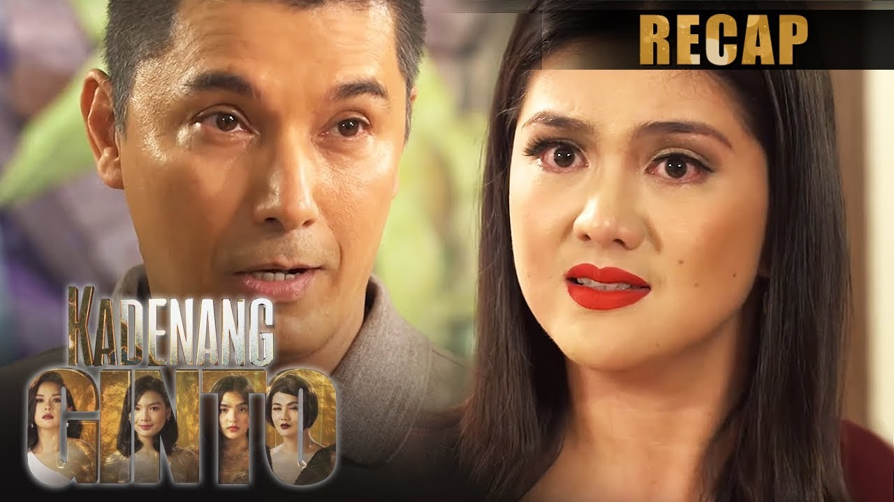 Download Daniela and Robert threaten each other with the truth   Kadenang Ginto Recap (With Eng Subs)