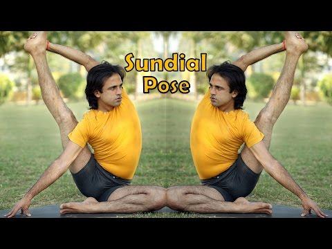 Sundial Pose   Compass Pose   Surya Yantrasana   Hamstrings Shoulder Opening