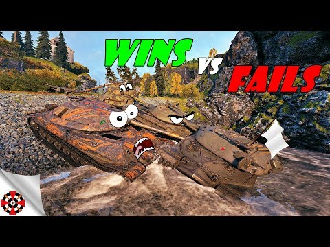 World of Tanks - Funny Moments | WINS vs FAILS! (WoT fails, January 2019) thumbnail