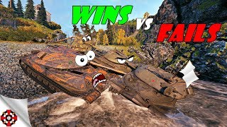 World of Tanks - Funny Moments | WINS vs FAILS! (WoT fails, January 2019)