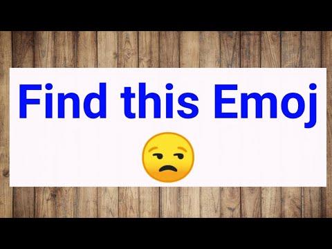 Download Find this emoj 😒