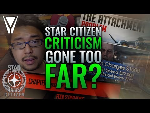 Has Star Citizen Criticism Gone Too Far?