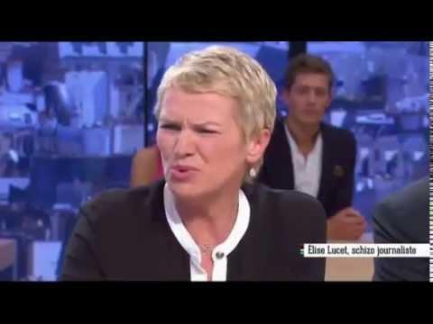Elise Lucet agacée par une question sur la mort de son mari (Le Supplément)
