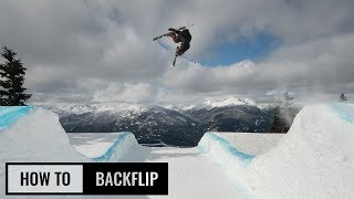 How To Backflip On Skis